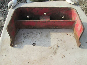 Farmall 656 Tractor Front Weight Bracket