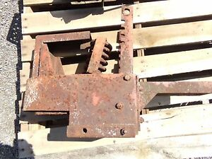 Allis Chalmers Wc Tractor Seat