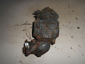 Farmall F 20 Tractor Carburetor