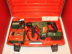 Hilti Te 7 a Cordless 36 Volt Rotary Hammer Srill With 2 batteries