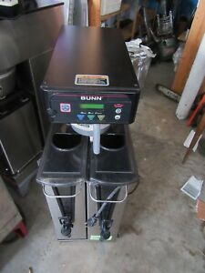 Bunn Itb Dual Commercial Iced Tea Maker Brewer With Sweetener Model 41400 0503