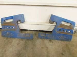 8 Ford Tractor Weights 22 Kg ea with Mounting Bracket