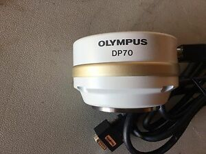 Olympus Dp70 Microscope Digital Camera And Cable