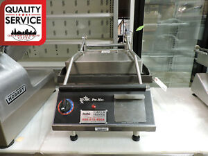 Star Pro max Gr14i Commercial Smooth Two sided Sandwich And Panini Grill
