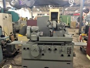 Id od Cylindrical Grinder 10 X 24 Landis Universal Grinding Machine 8 Chuck
