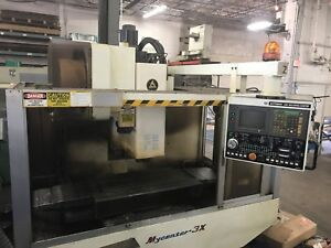 1996 Kitamura Mycenter 3x Cnc Vertical Machining Center 10k Rpm 20 atc