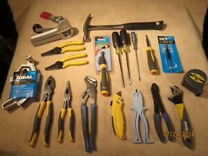 Ideal Electricians Tools Kit Full Set 21 Pcs Cutters Pliers Screw Drivers