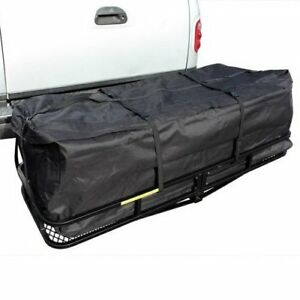 60 X 21 2 Hitch Mount Cargo Carrier Truck Luggage Basket Waterproof Bag