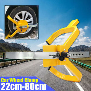Car Tire Claw Truck Trailer Wheel Clamp Lock Anti Theft Parking Boot Safety Lock