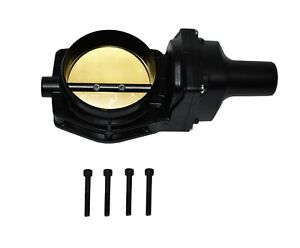 92 Mm 4 Bolt Throttle Body Ls Engine Drive By Wire Compatible W Chevy Gm Black