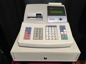Casio Xe a505 Cash Register Business Retail Sales Programmable Working
