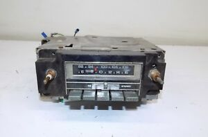 78 79 80 81 82 Camaro Trans Am Firebird Corvette Delco Gm Am Fm 8 Track Radio
