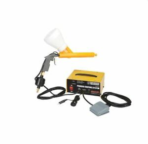 Powder Coating System Foot Switch Ground Clamps 10 30 Psi 1 4 Nps Air Inlet