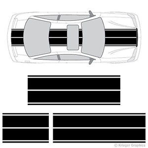 Chevy Cavalier Dual Rally Racing Stripes 3m Vinyl Double Stripe Decals