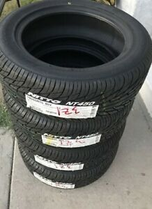 4 New Nitto Nt450 195 50r15 Tires 1955015 195 50 15