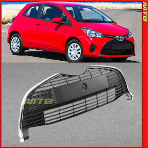 Unpainted Lower Front Grille For 2015 2018 Toyota Yaris Hatchback Bottom Center