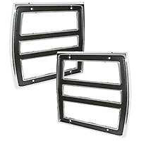 Tail Light Bezel Pair For 1968 Dart Models