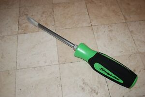 Snap On Tools Green Giant Display Flat Tip Screwdriver