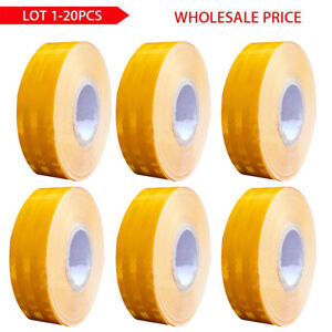 Lot2 x150 car Truck Reflective Safety Warning Conspicuity Roll Tape Film Stick M