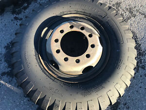 11 00x20 12 Ply Ndt Military Surplus Tires Mounted On Wheels And Loose