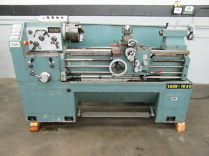 Victor 1640 Gap Bed Engine Lathe