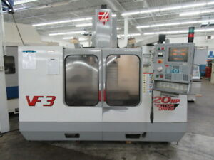 Haas Vf 3 Cnc Vertical Machining Center