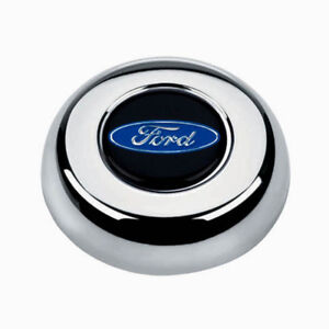 Grant Horn Button For Classic Challenger Steering Wheel Ford Center Cap Logo