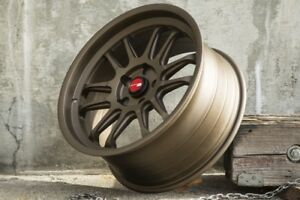 Aodhan Ah07 18x8 5 35 18x9 5 30 5x100 Full Bronze Staggered set Of 4