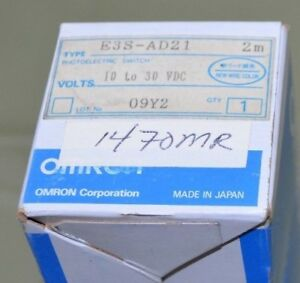 Omron Photoelectric Sensor Switch E3s ad21 New In Box