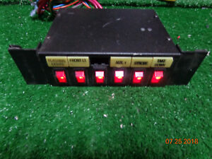 Federal Signal Sw300 012 Series D Light Control Switch Box Fire Police B18