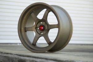 Aodhan Ah08 18x8 5 35 18x9 5 30 5x100 Full Bronze Staggered set Of 4
