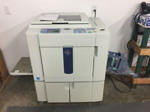 Riso Mz990 Two color Single pass Digital Duplicator