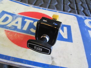 Datsun 66 72 520 521 Hazard Switch Restored W Nos Knob