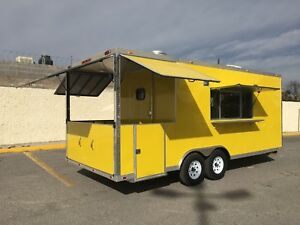 20 X 8 5 Concession Food Trailer Restaurant Catering Bbq Loaded
