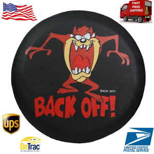 Spare Tire Cover 14inch Waterproof Dust Proof Back Off Rv Wheel Covers For Jeep