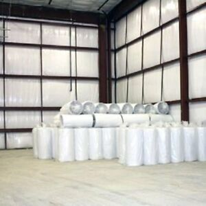 2500sqft White Nasa Reflective Foam Core 1 4 Inch Solid Insulation Vapor Barrier