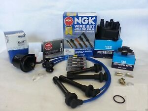 Tune Up Kit Oil Filter Spark Plugs Fits For 1996 2000 Civic Cx Dx Lx Ex 1 6l