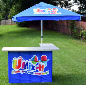 Portable Snow Cone Stand Shaved Ice Stand Concession Stand