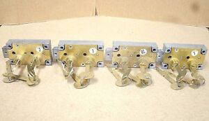 Lot Of 4 Ilco Precesion Products 4100 Rh Safe Deposit Locks Locksmith nos