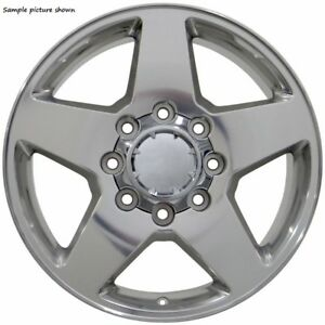 4 New 20 Wheels Rims For Chevrolet 1999 2010 Suburban 2500 Hd Chevy A1039