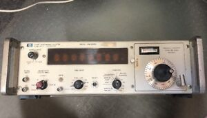 Hp Agilent Electronic Counter Frequency Measuring Part 5245l