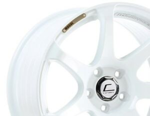 Cosmis Racing Mr7 18x9 25 5x114 3 White Civic Rsx Mazda3 Sti Evo 350z Accord