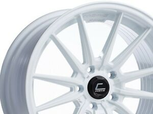 Cosmis Racing R1 18x9 5 35 5x112 Gloss White set Of 4