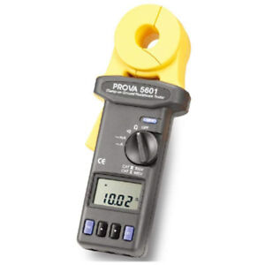 Prova 5601 Clamp on Ground Resistance Tester Tes 5601