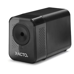 X acto Xlr Electric Pencil Sharpener Black For Classroom Office Safe Heavy Duty