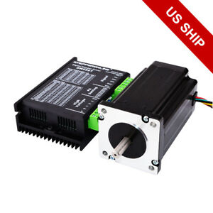 1 Axis Nema 24 Stepper Cnc Kit 1 8 Deg Motor Driver Cnc Router Kits 60 X 60mm