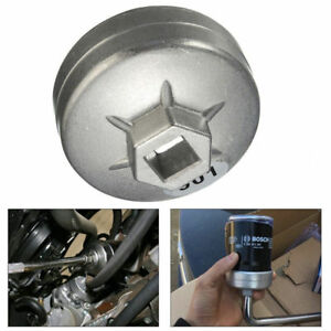 1x 65mm Oil Filter Cap Wrench Car Socket Remover Tool 14 Flutes For Toyota A8