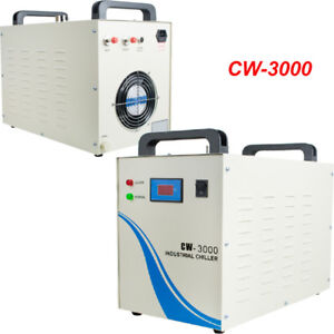110v Cw 3000 Thermolysis Water Cooler Chiller 50w For Cnc Laser Engraver