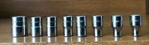 Snap On Tools 1 4 Drive 12 Point Shallow Socket Tmd18 9 16 Tmd6 3 16 Choose