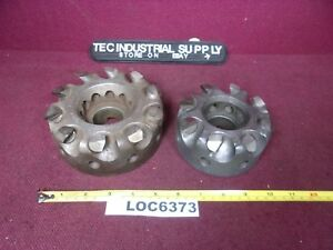 Lot Of 2 Lovejoy Face Mill 5 1 2 4 1 2 Cutter Loc6373